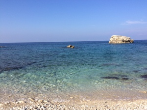 Plani Beach to ourselves