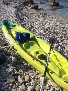 Our 2 man canoe